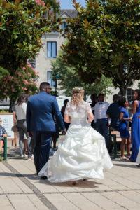 photo Mariage sortie mairie