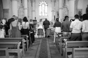 Mariage photo noir et blanc
