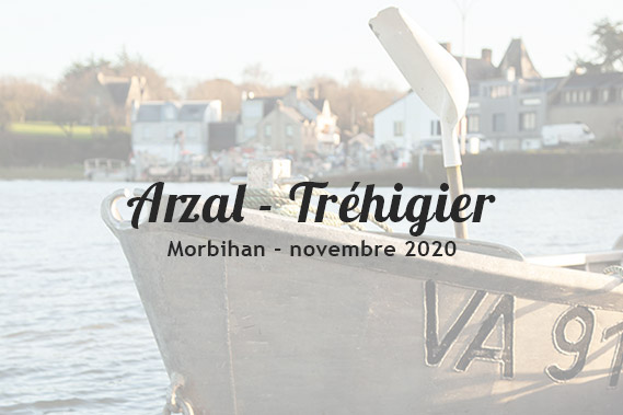 Reportage photo Arzal - Tréhigier, Morbihan 56